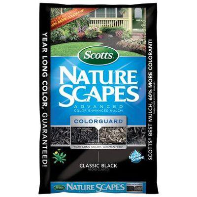 Scotts Nature Scapes Cedar Mulch Classic Black 2 cu. ft. 2 sq. ft.