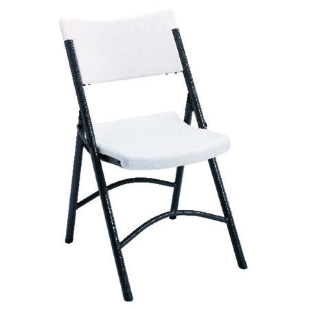Living Accents Blow Mold Chair White