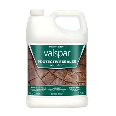 Valspar Transparent Wet Look Sealer High Gloss 1 gal.