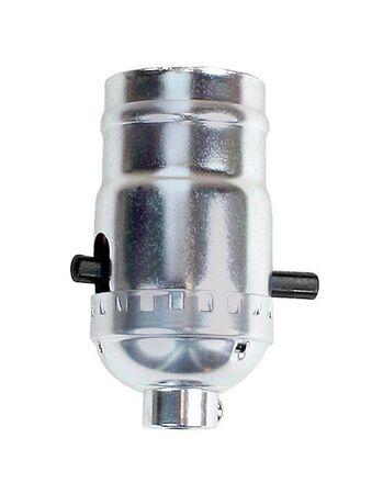 Jandorf 660 watts Push Thru Socket 250 volts Nickel