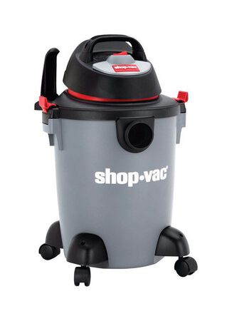 Shop-Vac 6 gal. Corded Wet/Dry Vacuum 3 hp 110 volts Gray