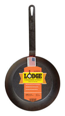 Lodge Steel Skillet 10 in. Black