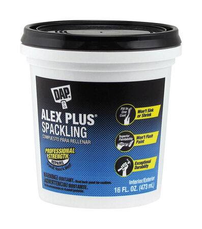 DAP Alex Plus Ready to Use Spackling Compound 1 pt.