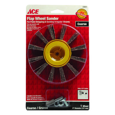 Ace 5 in. Dia. x 1/4 in. Flapwheel Sander 50 Grit