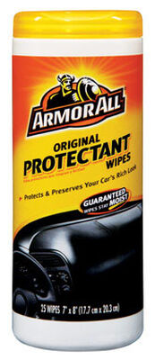 Armor All Original Rubber/Plastic Protectant 25 wipes
