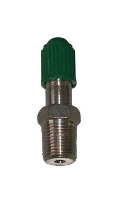 Campbell 1/8 in. Dia. x 1/8 in. Dia. Brass Snifter Air Valve