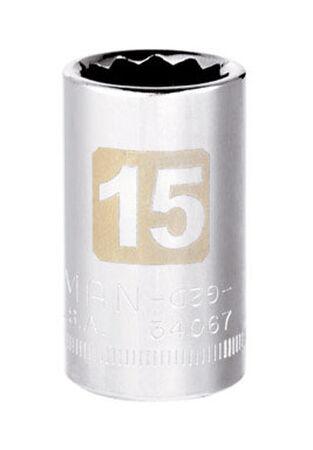 Craftsman 15 Alloy Steel 1/2 in. Drive in. drive Socket Standard