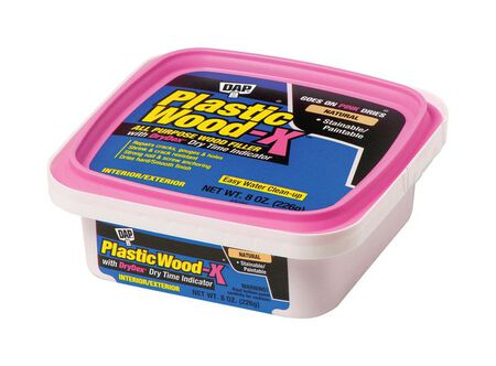 DAP Plastic Wood-X Natural Stainable Wood Filler 8 oz.