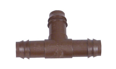 Rain Bird 1/2 in. Plastic Drip Irrigation Barbed Tee 4 pk