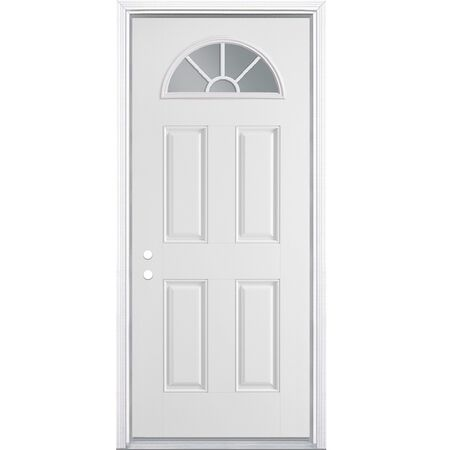 Steel Entry Door Left Hand - 36 in. x 80 inch.