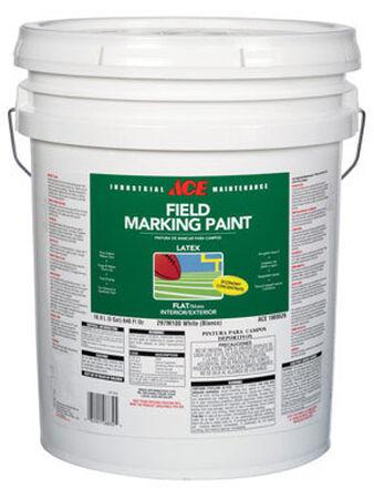 Ace 5 oz. Latex Field Marking Paint Flat