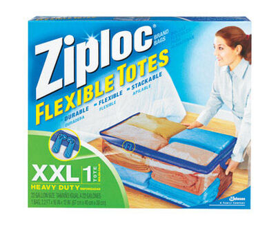 Ziploc Flexible Storage Tote 12 in. H x 2.2 ft. W x 16 in. D