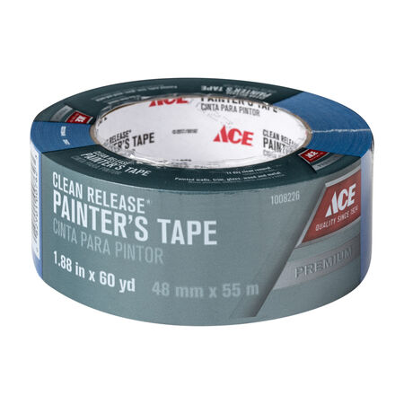 Ace 1.88 in. W x 60 yd. L Blue Medium Strength Painter's Tape 1 pk