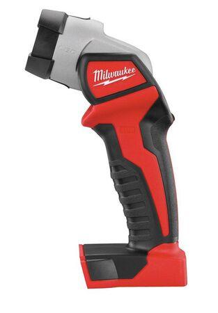 Milwaukee M18 100 lumens Black/Red LED Work Light Flashlight