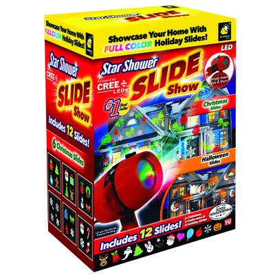 Star Shower Slide Show As Seen On TV LED Light Projector Red 1 pk