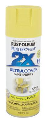 Rust-Oleum Painter's Touch Ultra Cover Lemon Grass Satin 2x Enamel Spray 12 oz.