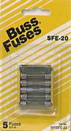 Bussmann 20 amps SFE Automotive Fuse 5 pk