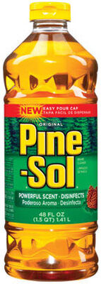 Pine Sol Pine Scent All Purpose Cleaner 40 oz. Liquid For Multi-Surface