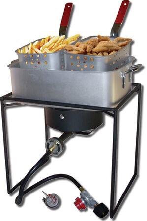 Rectangular Outdoor Cooker Package
