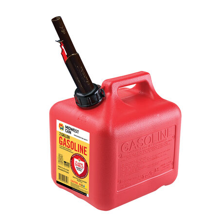 Gas Can Quick-Flow 2 Gal