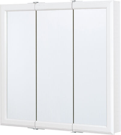 Continental Cabinets Medicine Cabinet Triview 28-3/4 in. x 30 in. x 4-1/4 in. White