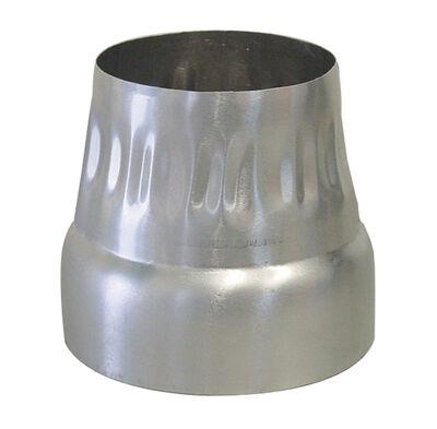 Deflect-O Jordan 4 - 3 in. Dia. Increaser/Reducer Aluminum