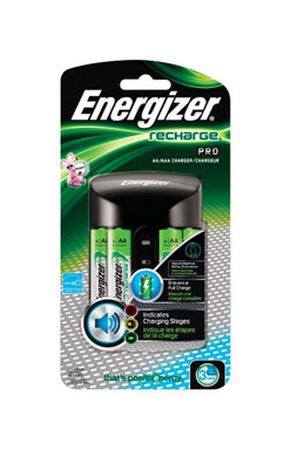 Energizer Pro Charger And Batteries Size AA & AAA