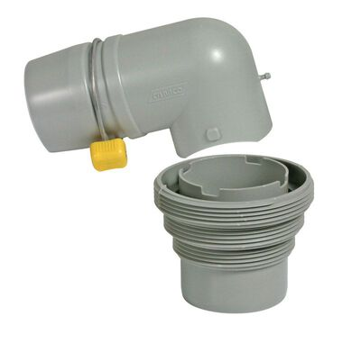 Camco Easy Slip RV Sewer Elbow & Adapter 3 pk