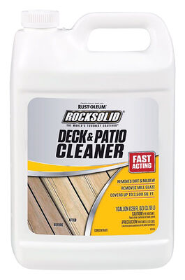 Rust-Oleum RockSolid Deck and Patio Cleaner 1 gal.