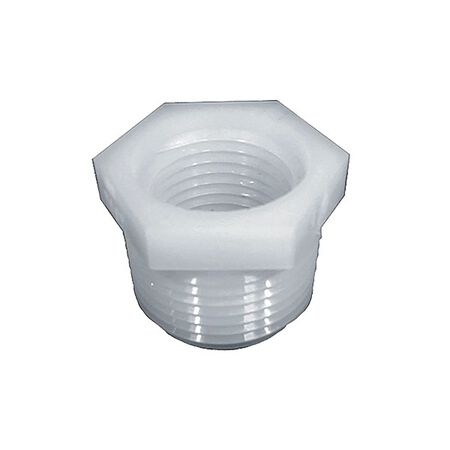 Anderson 1/2 in. Dia. x 1/4 in. Dia. MPT To FPT Nylon Hex Bushing