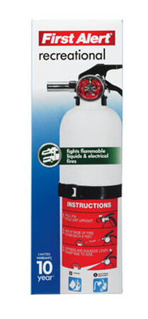 First Alert 2 lb. US Coast Guard OSHA For Recreational Fire Extinguisher