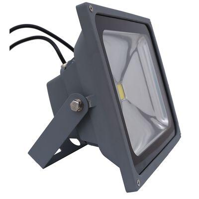 Ace 150 deg. Dusk to Dawn LED Gray Outdoor Flood Light 50 watts