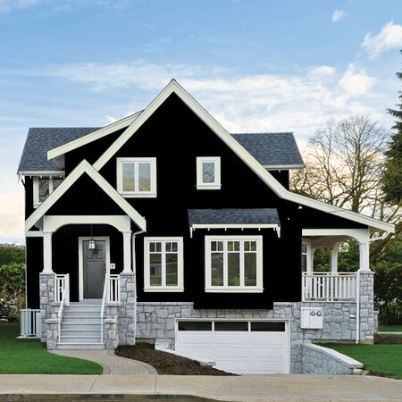 Ace Clark+Kensington Semi-Gloss Neutral Base Acrylic Latex House/Trim Paint Outdoor 1 qt.