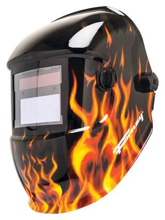 Forney 1.7 in. H x 3.6 in. W 13 no. Auto Darkening Welding Helmet