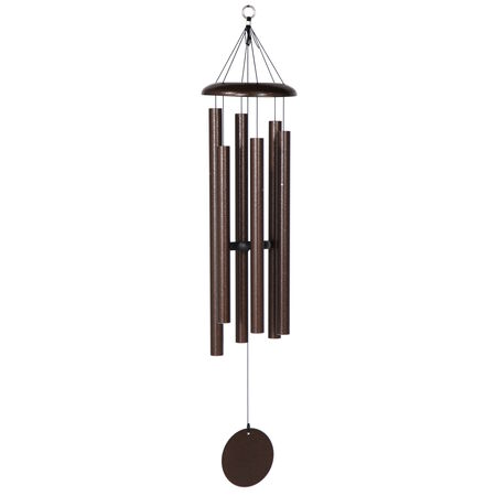 "Corinthian Bells, 44"" Copper Vein Windchime"
