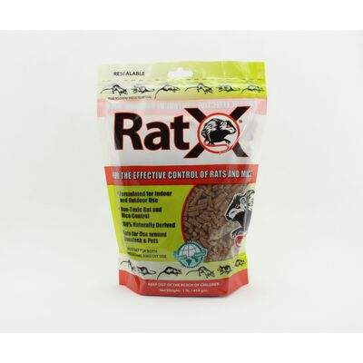 RatX Rodent Killer For Rats Mice Granules 1 lb. 1