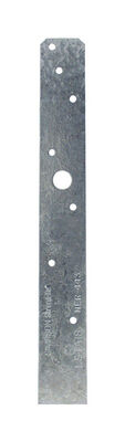 Simpson Strong-Tie Galvanized Steel Strap 18 in. H x 1-1/4 in. W 20 Ga.