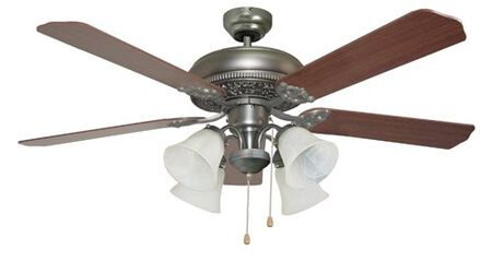 Ellington Manor Ceiling Fan - Antique Nickel