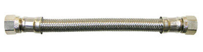 Ace 3/8 in. Compression x 3/8 in. Dia. Compression Stainless Steel Faucet Supply Line 20 in.