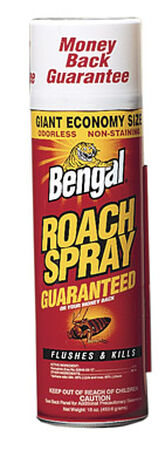 Bengal Roach Spray II Insect Killer For Roaches 16 oz.
