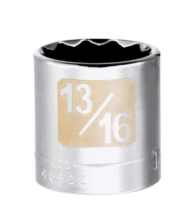 Craftsman 13/16 Alloy Steel Standard Socket 3/8 in. Drive in. drive