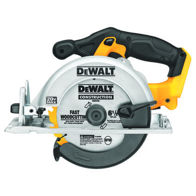 DeWalt 20 max volts 6-1/2 in. Dia. Cordless Circular Saw Bare Tool 5 150 rpm