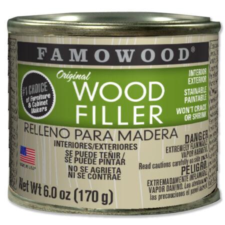 Famowood Mahogany Wood Filler 6 oz.