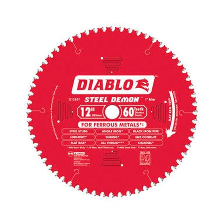 Freud Diablo 7-1/4 in. Dia. 70 teeth Carbide Tip Steel Circular Saw Blade For Thin Ferrous Metals