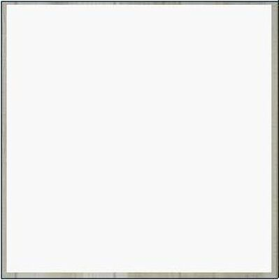 "Panel 4' x 8' x 1/8"" Deluxe Solid White Wallboard"