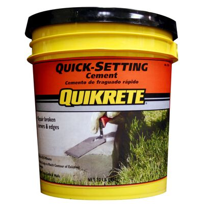 Quikrete 20 lb. Fast Setting Concrete Mix
