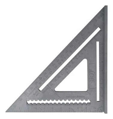 Ace ABS Rafter Square 12 in. L