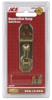 Ace 1 Decorative Hasp With Hooks