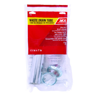 Ace 1-1/2 in. Dia. x 7 in. L Brass Waste Arm