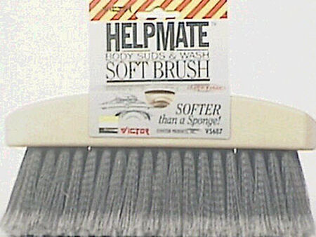 Bell Soft Plastic Body Sud Wash Brush 1